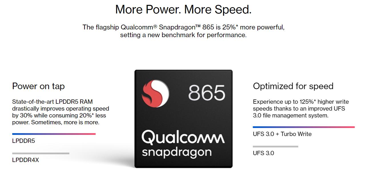 One Plus 8 Pro qualcom snapdragon