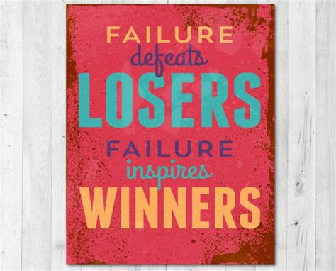 bloggerboy - failure defeats losers failure inspires winners